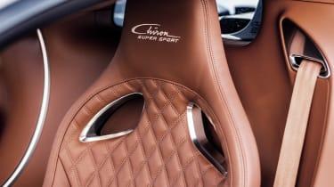 Bugatti Chiron Super Sport - seat