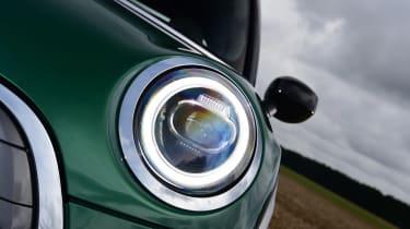 MINI Electric long termer - headlight
