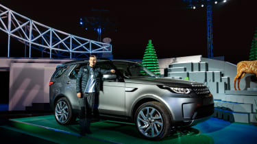 Land Rover Discovery launch - Bear Grylls