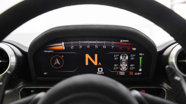 McLaren Senna - dials