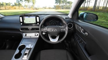 Hyundai Kona Electric - interior