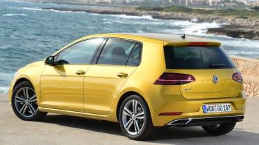 Volkswagen Golf 2017 facelift 1.5 TSI EVO - rear quarter
