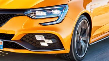 Renault Megane R.S. - front detail action