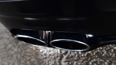 Alpina D5 S exhaust tips