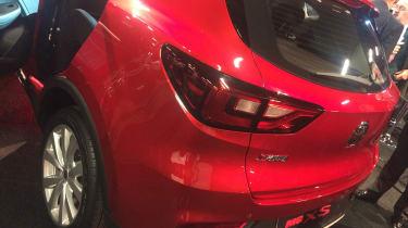 MG XS rear lights