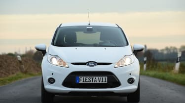 Ford Fiesta Mk6 - front