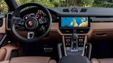 Porsche Cayenne Turbo - dash