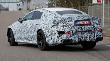 Mercedes-AMG GT four door spied - rear