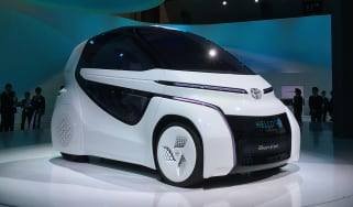Toyota Concept-i RIDE - Tokyo front