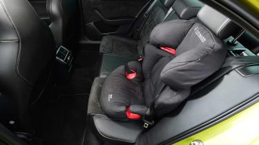 Skoda Superb - car seat