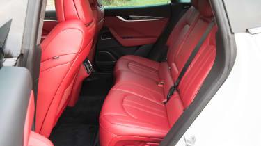 Maserati Levante S - back seats