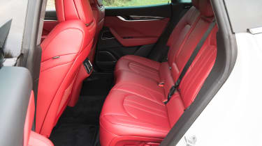 Maserati Levante S - back seats