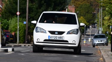 SEAT Mii electric - long termer first report full front