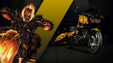 Harley Davidson Marvel Super Hero Customs - Ghost Rider Transformative
