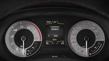 SEAT Leon Cupra R - speedo