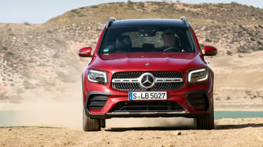 Mercedes GLB - full front