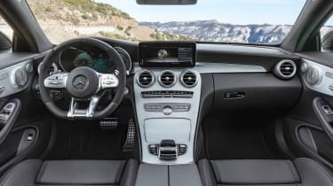New Mercedes C-Class Coupe - interior
