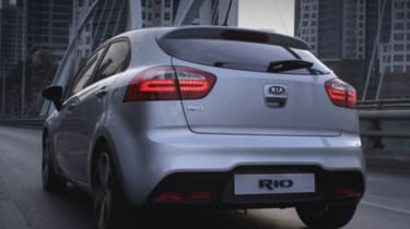 New Kia Rio rear
