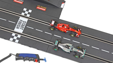Best Scalextric and slot car sets 2017/2018 - Carrera Digital 132 Night Contest track