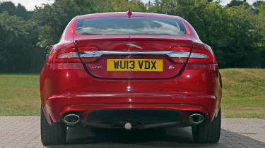 Used Jaguar XF - full rear