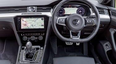 Volkswagen Arteon review - gold interior front