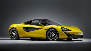 McLaren 570S Spider - front roof closed