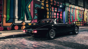 """""""Unleashed"""" launched as 400bhp Jaguar E-Type restomod - rear"""