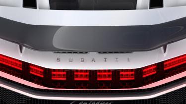 Bugatti Centodieci - rear detail