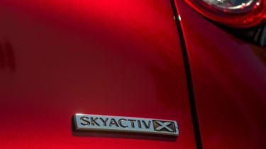 Mazda CX-30 SkyActiv-X - skyactiv-x badge