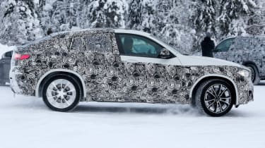 BMW X4 M side profile