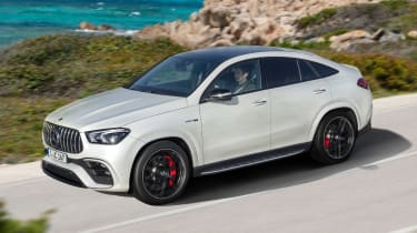 Mercedes-AMG GLE 63 S Coupe - front action