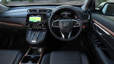 Honda CR-V hybrid - dash