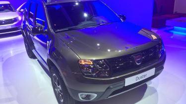 Dacia Duster Paris front three quarter