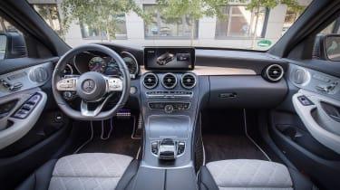 Mercedes C 300 de - dash