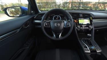Honda Civic diesel - dash