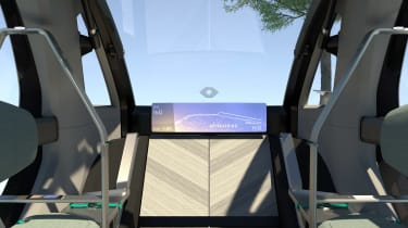 Renault EZ-GO concept - dash