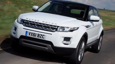 Range Rover Evoque eD4 front tracking