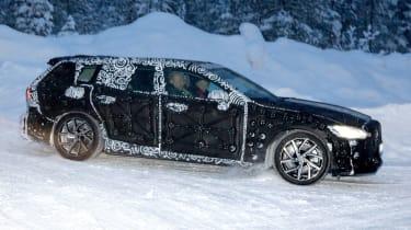 Volvo V60 spied - front/side