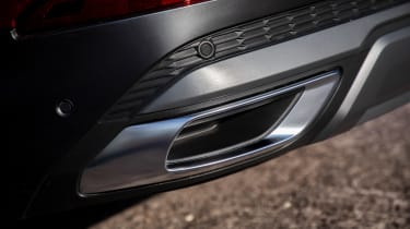 Audi Q7 55 TFSI - exhaust