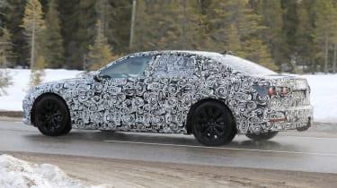 Audi A6 2018 spies side rear