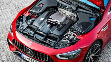 Mercedes-AMG GT 4-Door 63 S E-Performance - engine