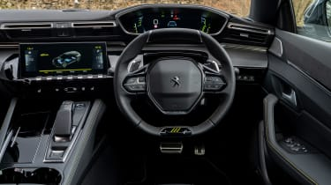 Peugeot 508 Sport Engineered - dash