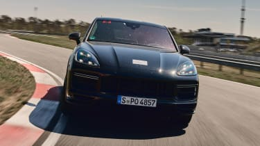 Porsche Cayenne Coupe prototype - full front