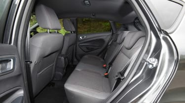 Ford Fiesta - rear seats
