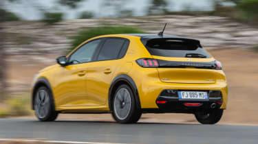 Peugeot 208 - rear action