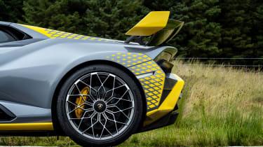New Lamborghini Huracan STO - wheel