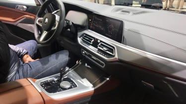 BMW X5 - Paris interior