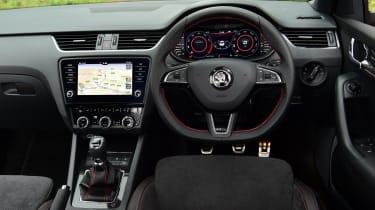 Skoda Octavia vRS Challenge - interior