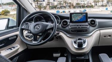 Mercedes V-Class Marco Polo - dash