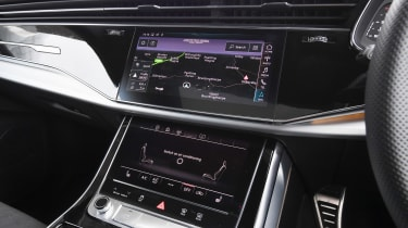 Audi Q8 - Touchscreens